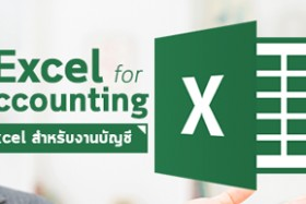 Excel for Accounting (การใช้ Excel สำหรับงานบัญชี) รุ่น 9