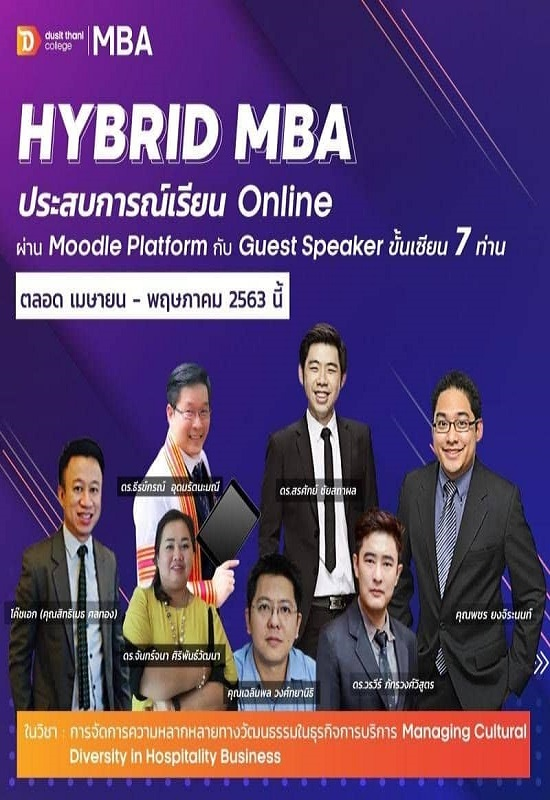 MBA (Hospitality Business Management & Innovative Entrepreneur)